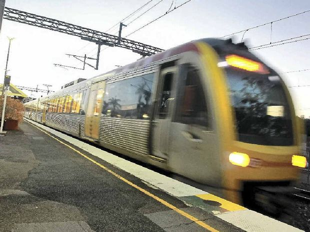 Monday morning rail commuters are facing delays on the Sunshine Coast.