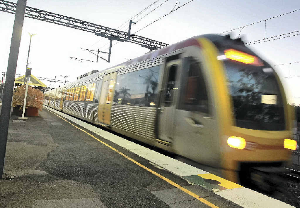 A report has recommended a high-speed rail project from Brisbane to places like Toowoomba.