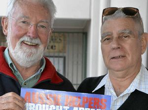 Men's shed supports drought relief with garage sale