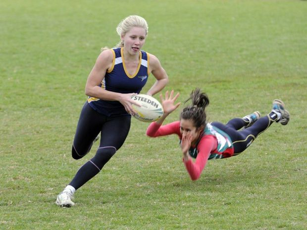 Georgina Rackemann has been selected as a shadow player in Australia's girls rugby 7s Youth Olympics team.
