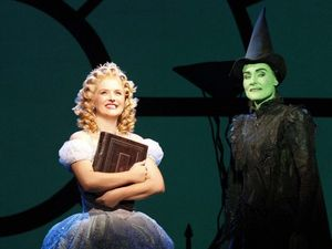 Friends happy to share the stage again as Wicked witches