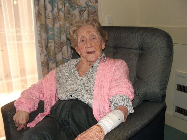 Joyce Cockerell was assaulted by another resident at the Ballina nursing home.
