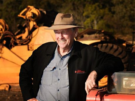 Clive Berghofer, property developer, is a much loved figure in the Toowoomba community.