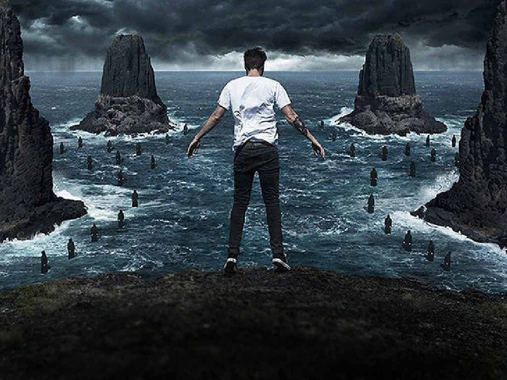 REACHING HEIGHTS: The Amity Affliction's new album Let The Ocean Take Me has reached number on in the Aria Charts.