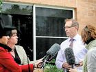 FRONTING THE MEDIA: Pip Carter, CEO of St Andrews village in Ballina, addresses the national media over the police investigation of two deaths at the nursing home.