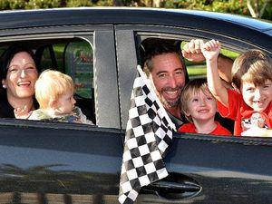 Family loves life in fast lane