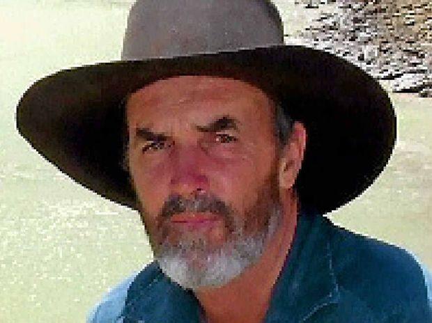 Central Queensland grazier Bruce Currie