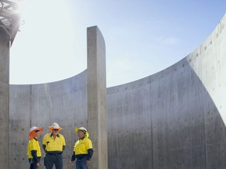 MODEL PLANT: The Goodna Sewage Treatment Plant Upgrade won a prize in the Healthy Waterways awards.