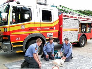 Firefighters to answer call on heart attacks