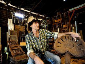Bill Farrand turning old 'trash' into historic treasures