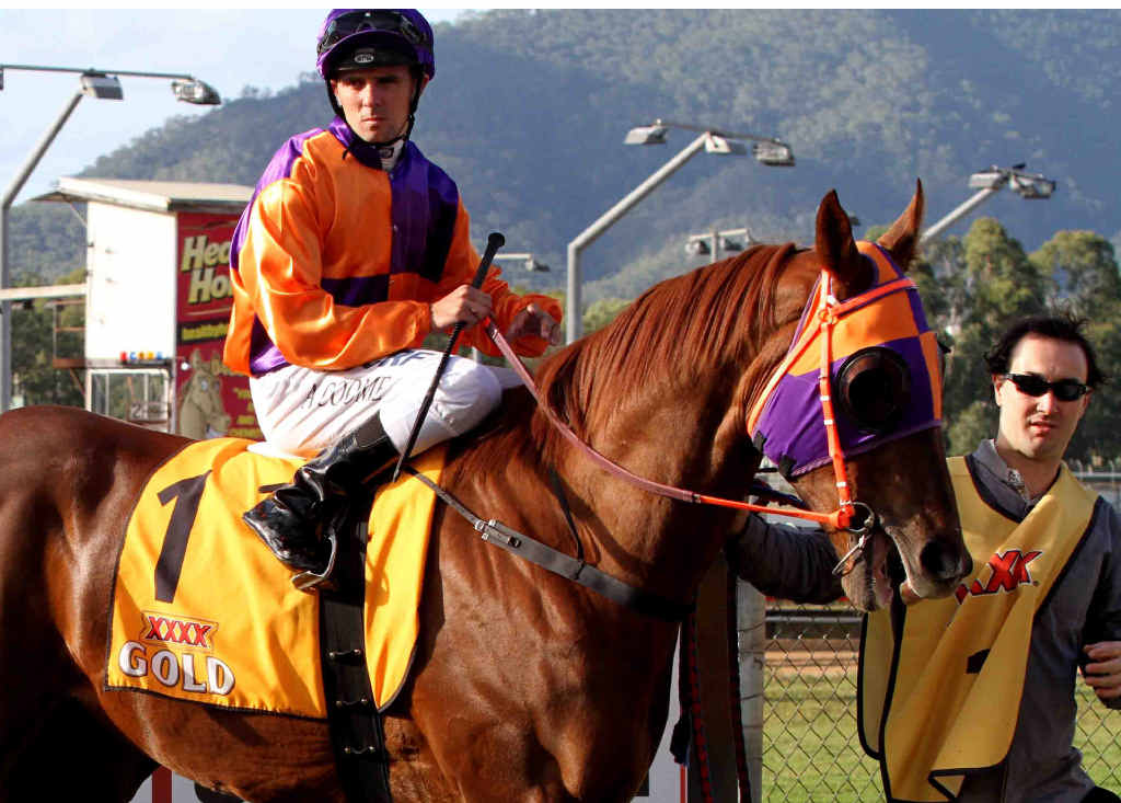 GREAT STATS: Our Boy Malachi is unbeaten at Rockhampton and has won 13 of his 15 starts.