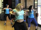 Zumba class sweats it out for cancer patient