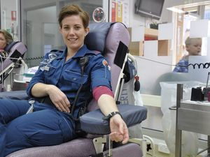 Emergency workers in blood donation challenge
