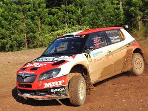 Czech this out! Kopecky celebrates rally victory