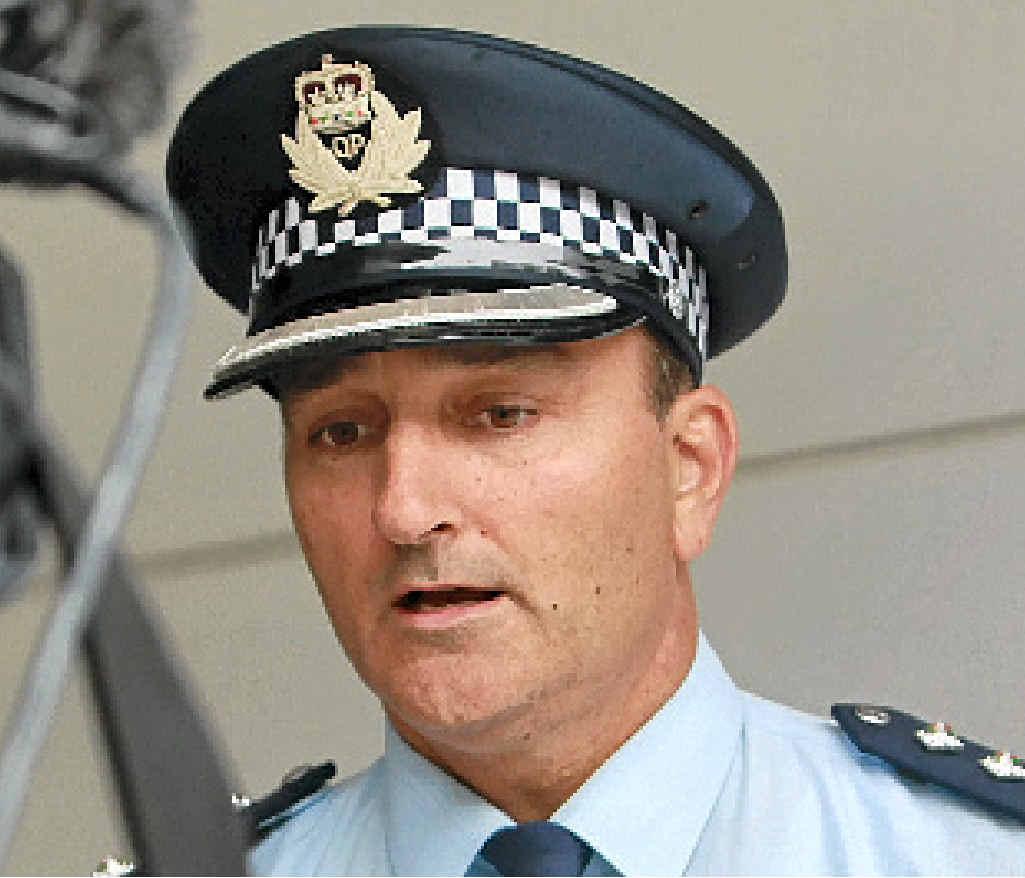 Inspector Jason Overland.