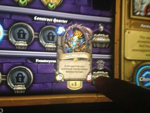 Hearthstone: Curse of Naxxramas screenshots leaked