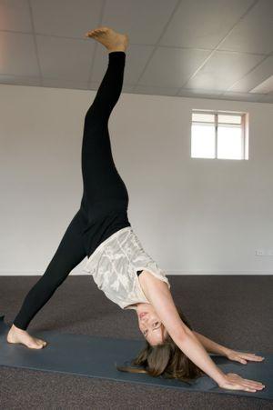 Nicole Loxley of Zama Yoga Toowoomba.