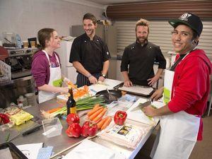 Chefs teach teens vital culinary skills