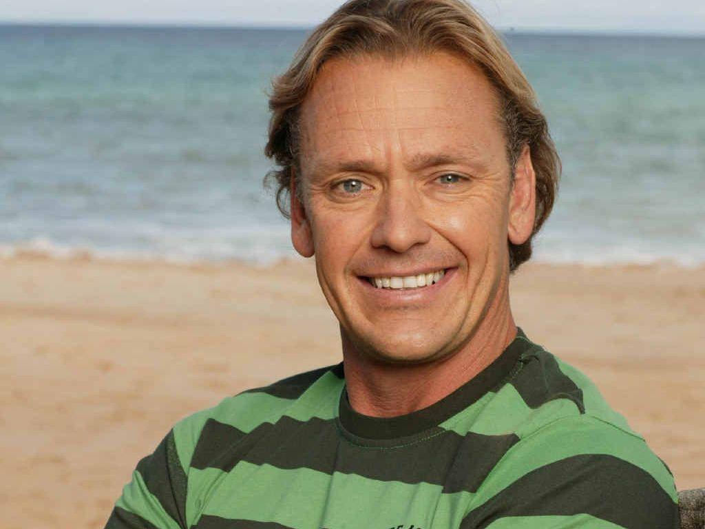 Former Australian Surf Lifesaving Ironman champion Guy Leech