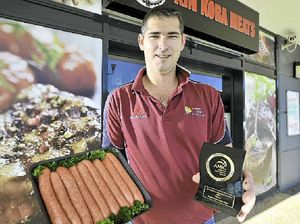 Gladstone butchers take out sausage king titles