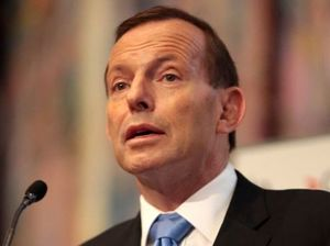 Tony Abbott makes a flying visit to Mackay