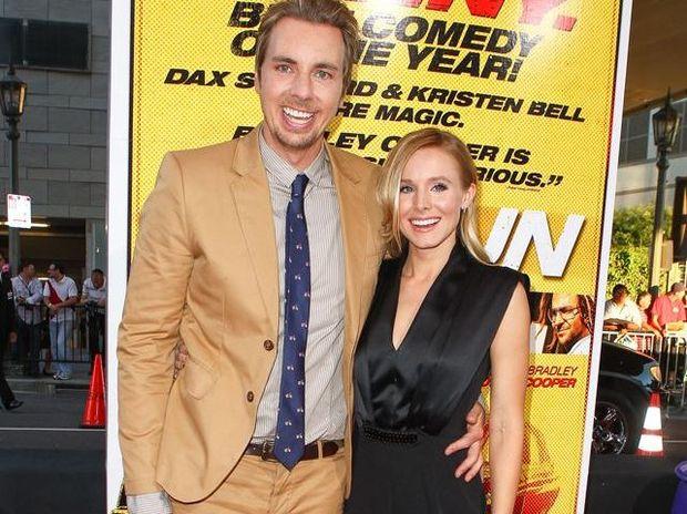 Kristen Bell and husband Dax Shepard