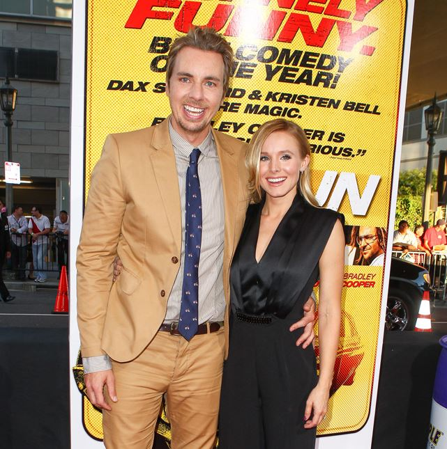Kristen Bell and husband Dax Shepard