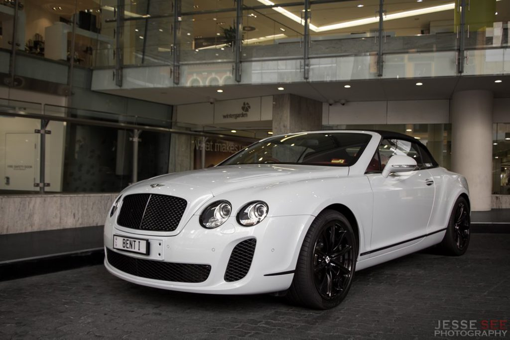The 2011 Bentley Continental Supersports Convertible.