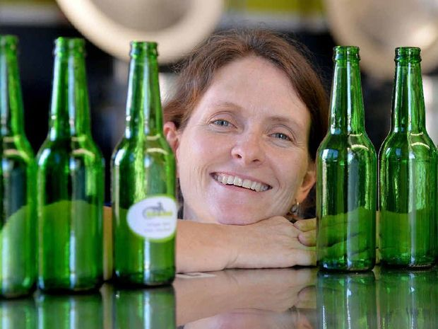 Goanna Brewing owner/operator Linda Palmer at the micro brewery in Paget.