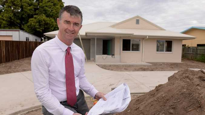 Minister for Housing and Public Works Tim Mander