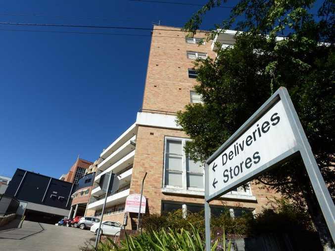 The Lismore Base Hospital.