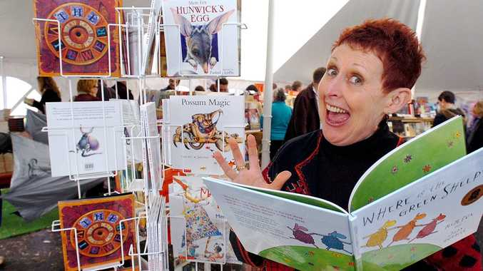 AVID READER: Mem Fox, author of Possum Magic, says you have to read before you can write.