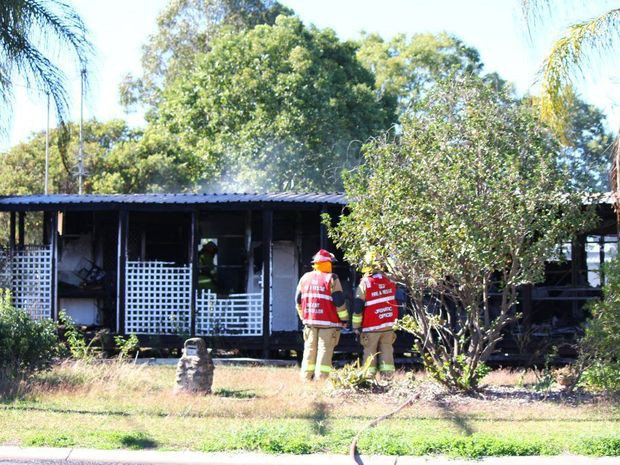 A Laidley teen has been placed into an induced coma after she was pulled from a house fire yesterday.