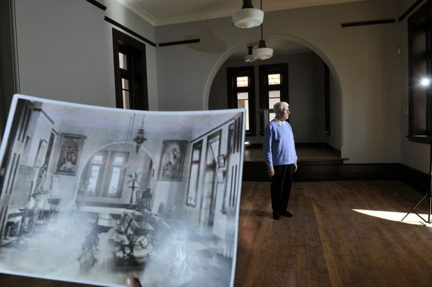 Sister Margaret Mary remembers her time spent at the Presentation House in Lismore after recent refurbishments to upgrade and modernise the building were finalised on Thursday.
