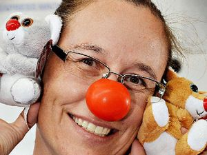Slap on a red nose for a good cause today