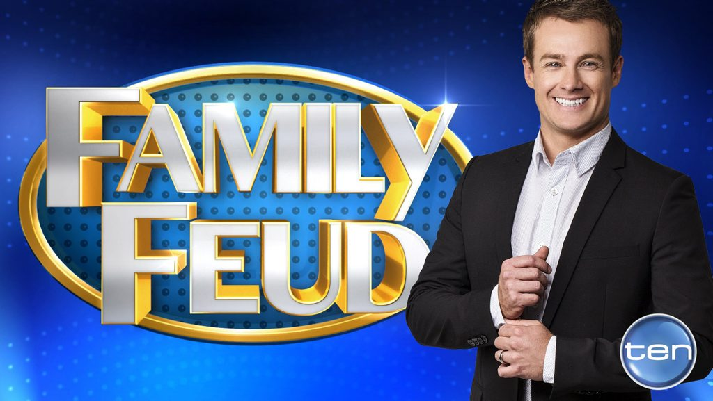 Grant Denyer will host Channel 10's new version of Family Feud. Supplied by Network Ten.
