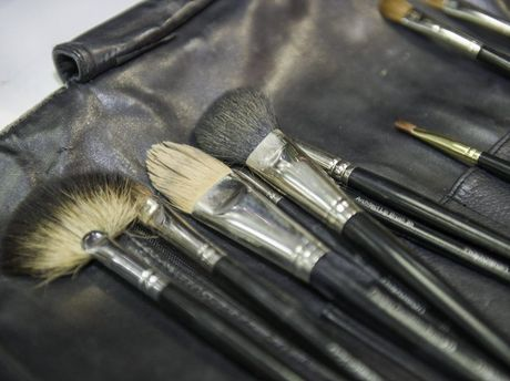Napoleon make-up brushes.