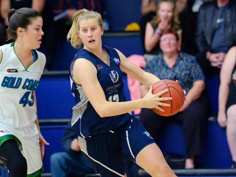 Cyclones player Chloe Morrow in the basketball game against Gold Coast at Hegvold Stadium. Photo: Chris Ison / The Morning Bulletin
