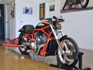 Me and My Ride: Harley V-Rod Destroyer