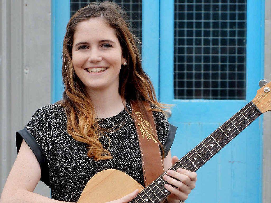 RISING STAR: Mackay singer Karrie Hayward will open the CMC Rocks North Queensland Festival in Townsville.