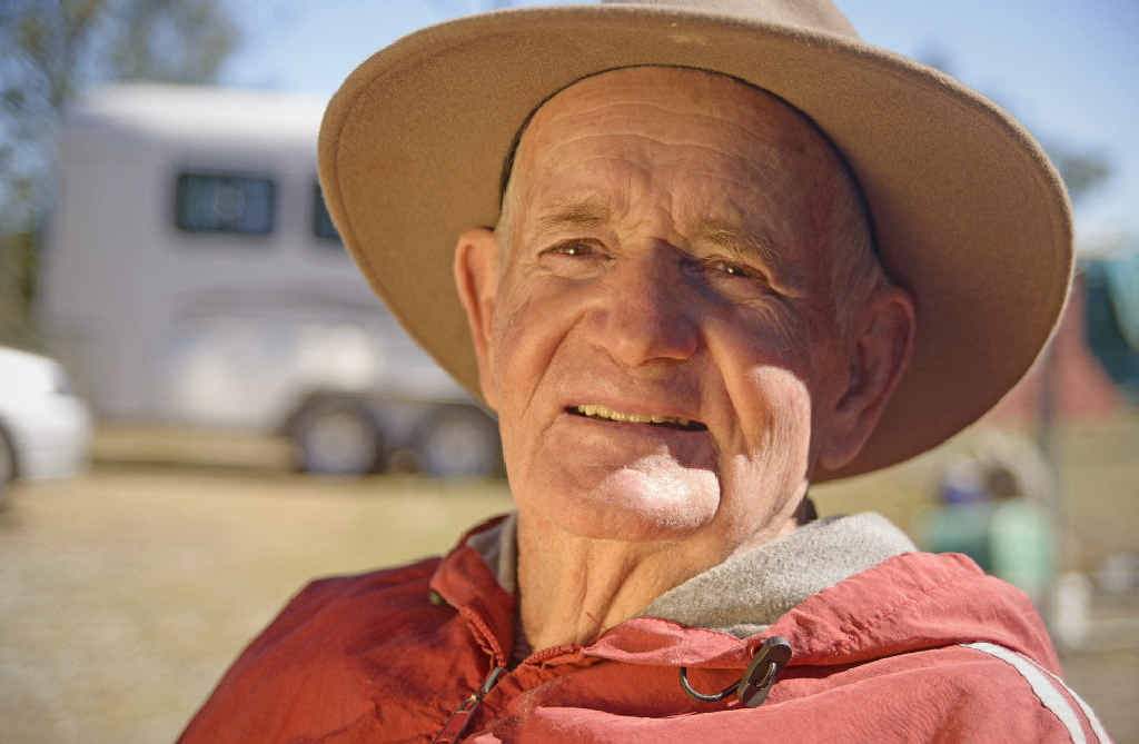 COLOURFUL CHARACTER: One of CQ's outback icons, Alwyn Torenbeek has written a book (inest) and his story will be aired on Landline this Sunday.