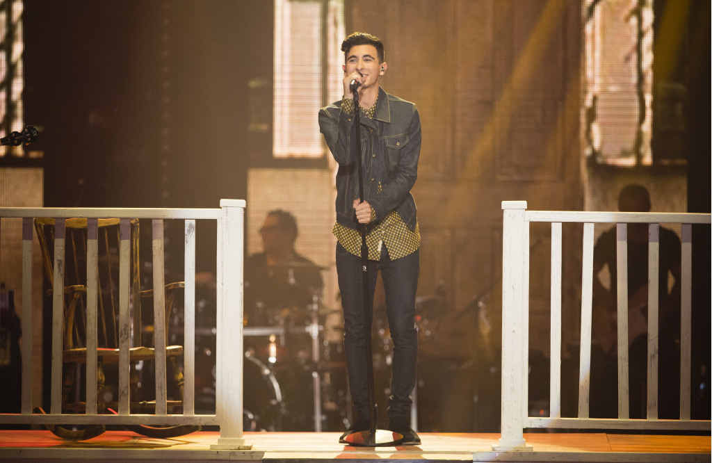WAITING FOR THE FANS: Isaac McGovern is relying on the public's voting to stay on The Voice.