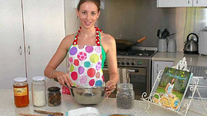 HEALTHY PASSION: Cassie Macdonald has just released the second edition of her cookbook, Clean Indulgence.
