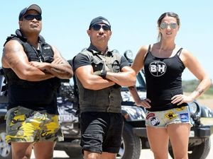 Jelly wrestling lures The Bogan Hunters to Ipswich