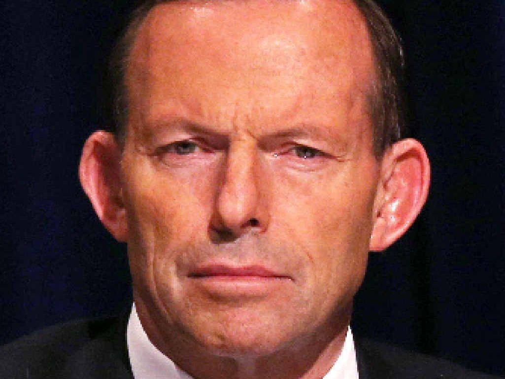 PROMISE: Tony Abbott.