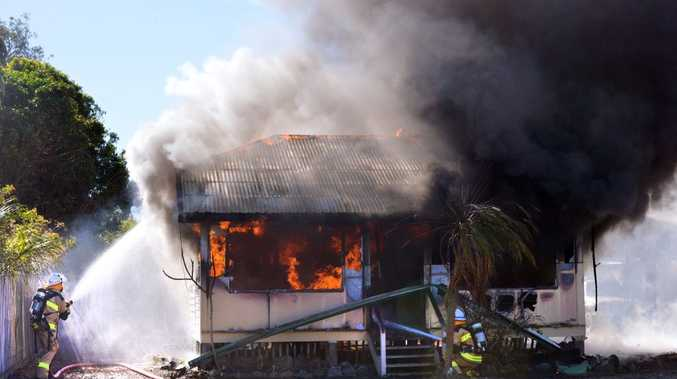 CAUTION URGED: House fires like this one can be avoided if residents reduce fire risk inside their homes.