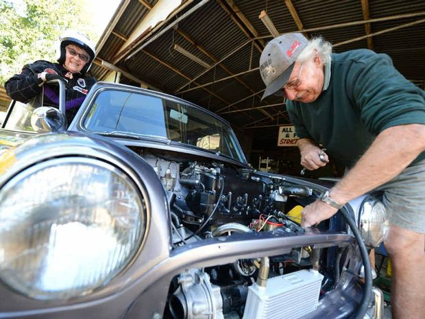 NEED FOR SPEED: Seventy-four-year-olds Jill and Ken Nelson are Mini Cooper racers.