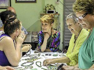 Jeweller held Shades of Green gemstone seminar