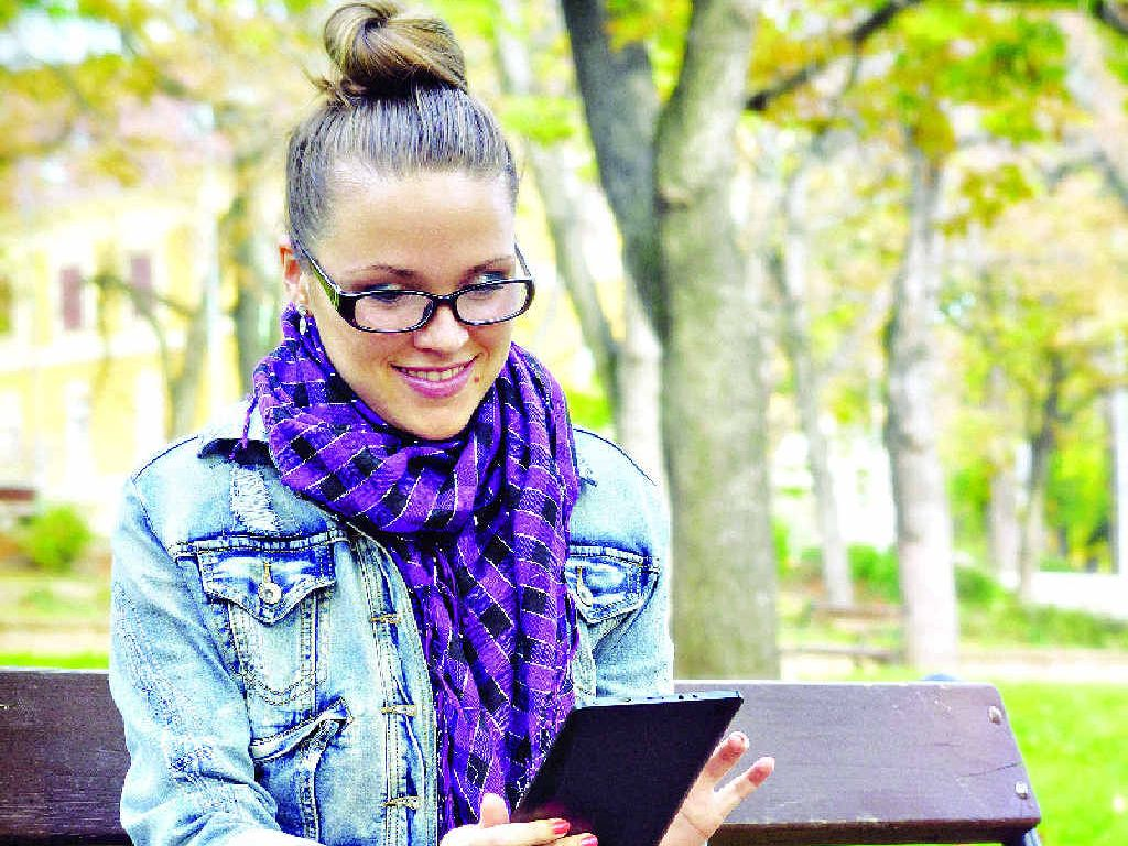 HARMLESS FUN: Online quizzes are popular.