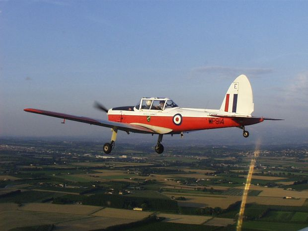 A Chipmunk plane. Source: Wikipedia